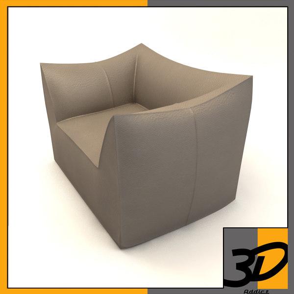 3d le bambole armchair model