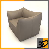 3d le bambole armchair model