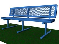 Park Bench Prototype A
