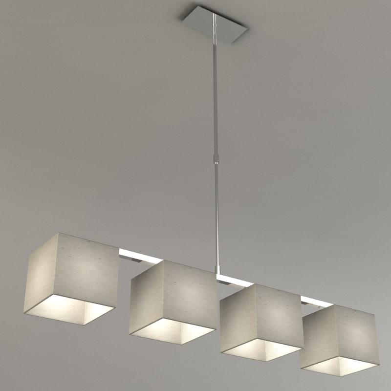 pendant modern ceiling lamp 3d 3ds