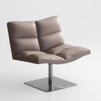 tonon lounge chair 3d max