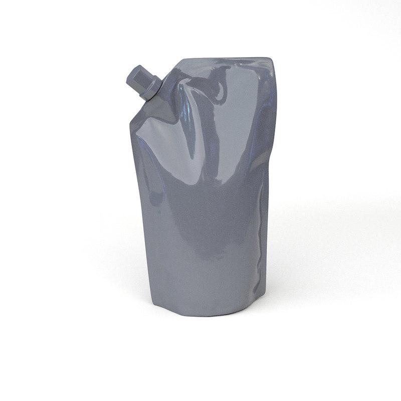refill package 3d model