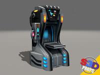 maya sci-fi replicator
