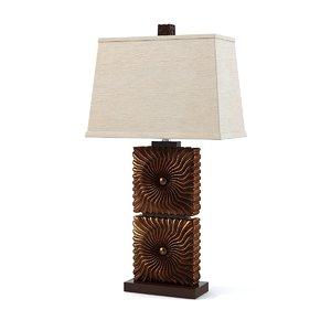 lamp abbyville 3d model