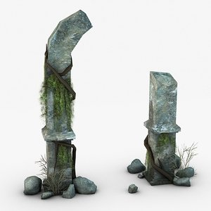 jungle ruins games model