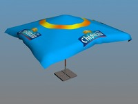 3ds max cafe umbrella