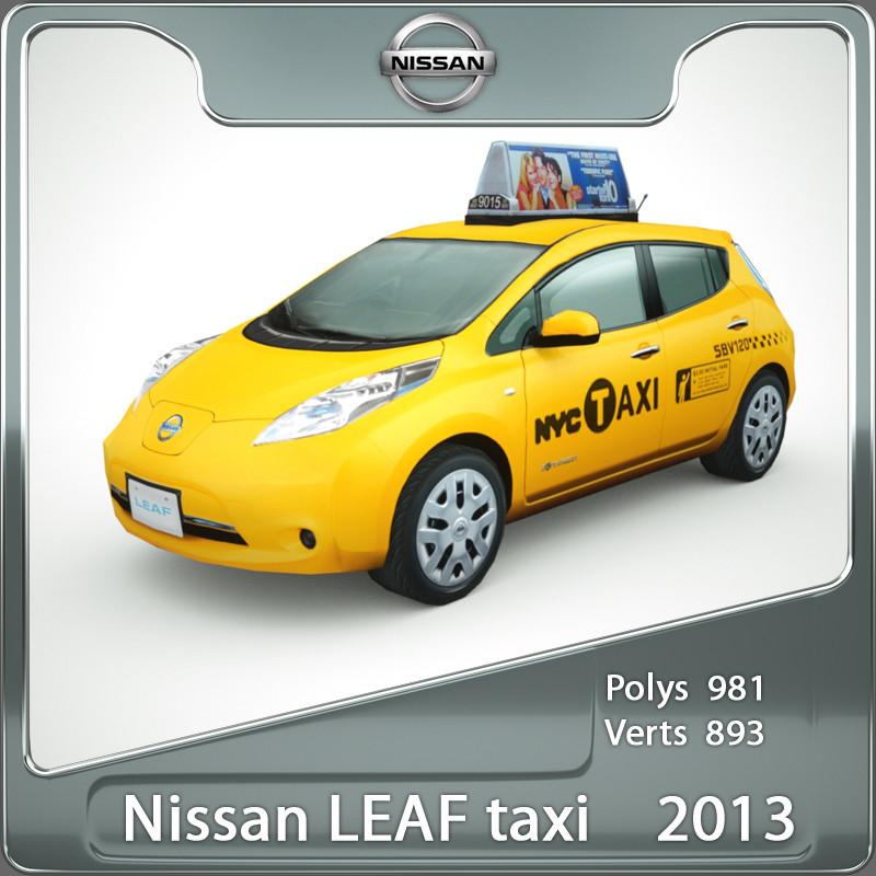 2013 nissan leaf nyc taxi lwo