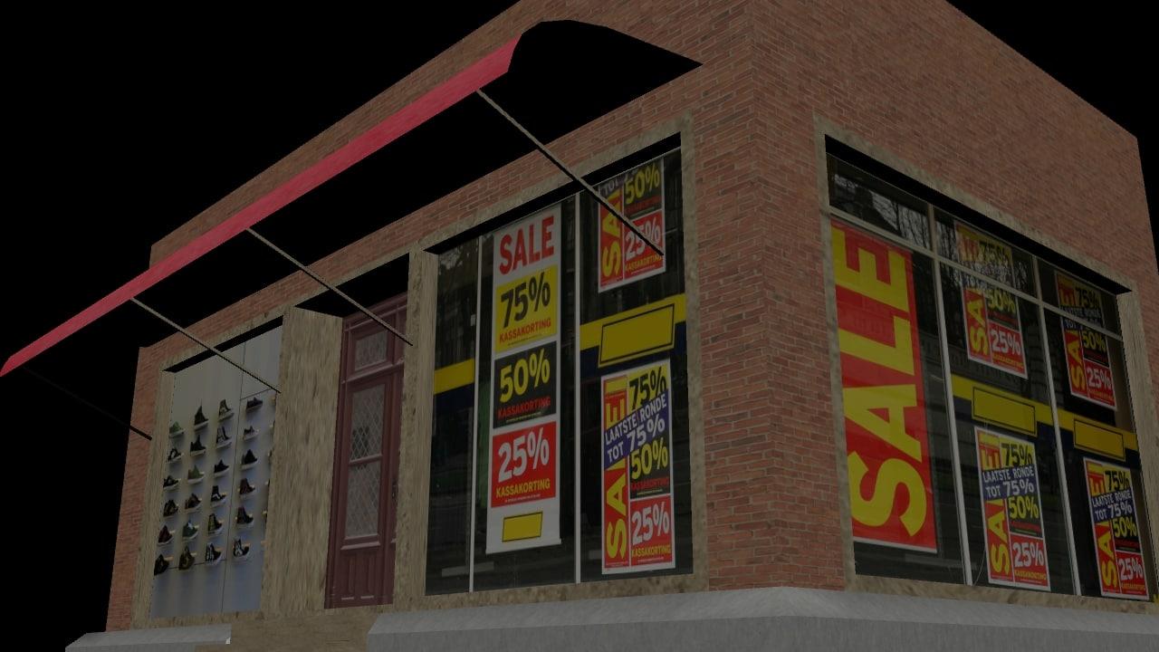 street shop fbx