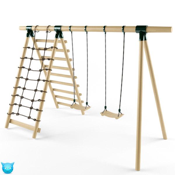 3d swing yard model