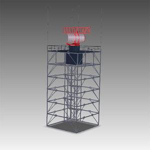 3d airport radar asr-11 model