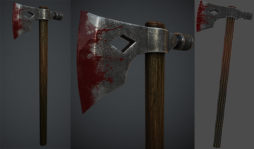 obj bloody axe