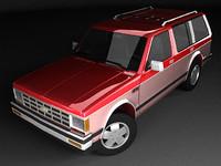 Chevrolet S-10 Blazer 5d PF Mk1