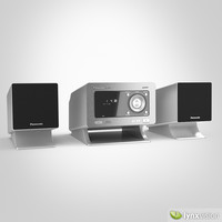 3d max panasonic cd stereo