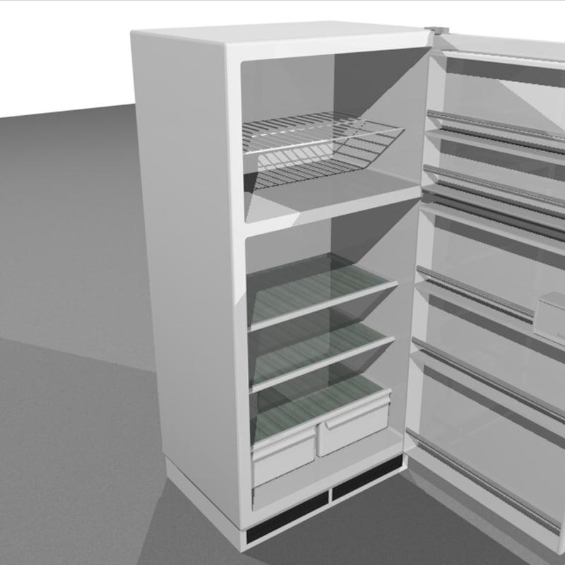 3d doors open model