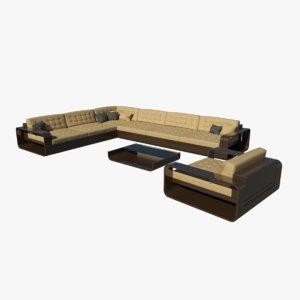 free max model realistic garden furniture