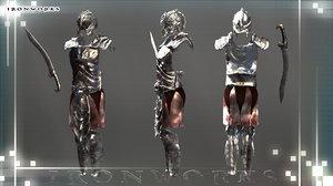 obj atlantean armor