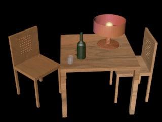 3ds max kitchen set