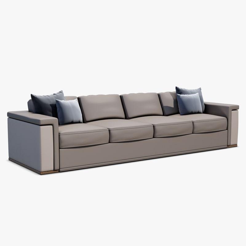 newman sofa 3d x