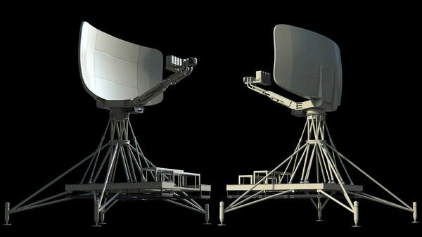 3d radar unit