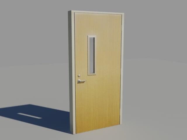 3d door hospital