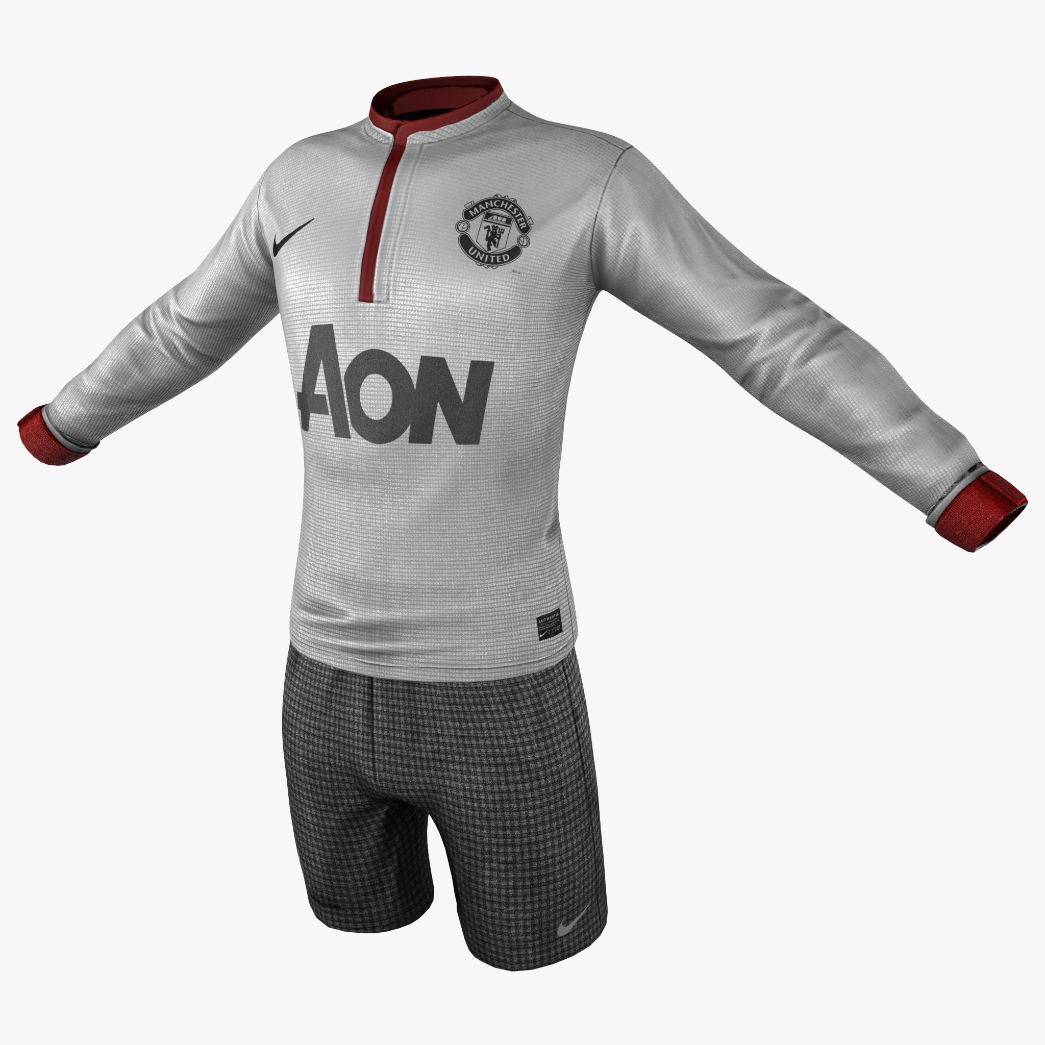 soccer gear 2 3d max