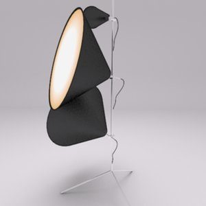 max tom dixon tripod light