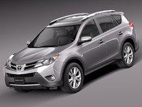 Toyota RAV4 2013 Lowpoly