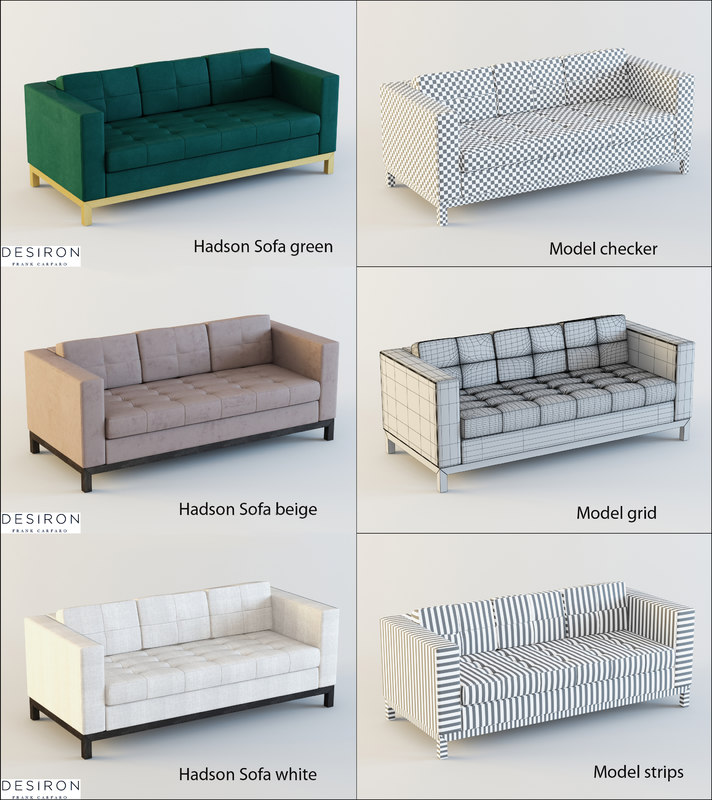 desiron sofa 3ds