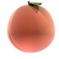 3d peach er model