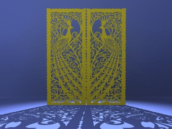 3d decorative partitions 01