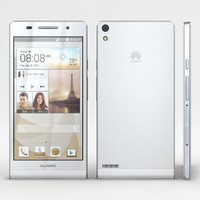 huawei ascend p6 white 3d max