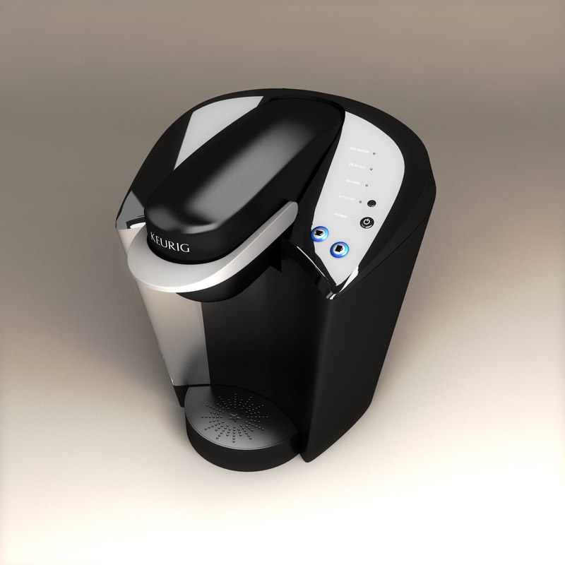 keurig cup coffee 3d model