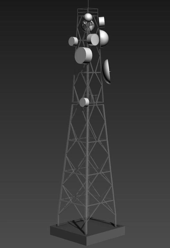 free max mode communication tower
