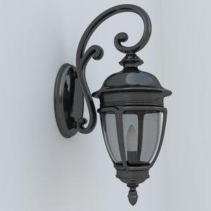 street lamp 3d obj