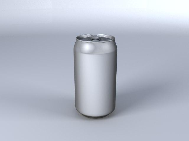 3d model of aluminium