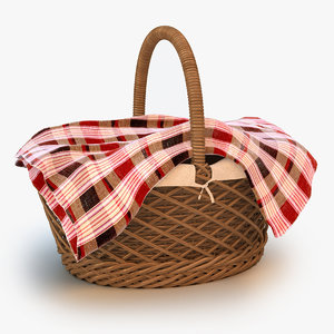 picnic basket 3d 3ds