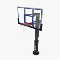 ball hoop 3d model