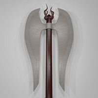3ds max medieval battle axe