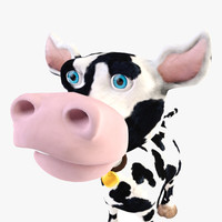 cow character 3d max