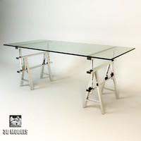 3ds max eichholtz desk shaker