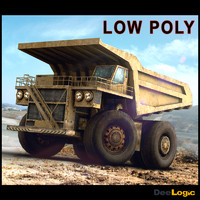 3d model off-highway truck mining