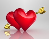 hearts arrows 3d model