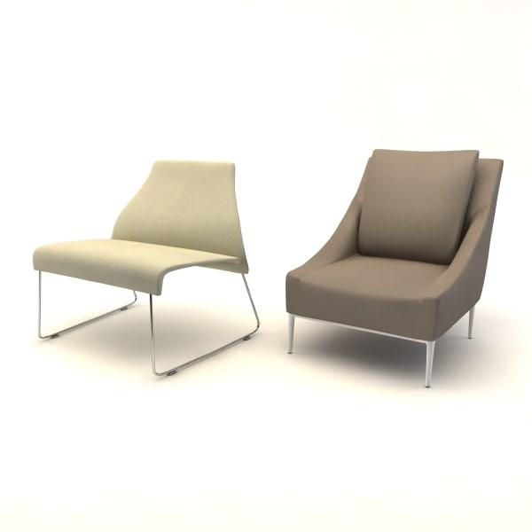 jean chair 3d model