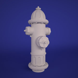 3d max hydrant