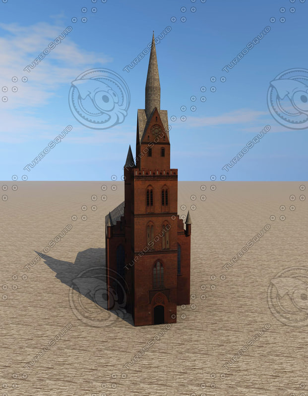 3d church ready model