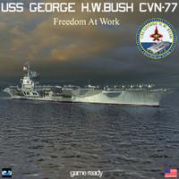 USS George H.W. Bush CVN-77