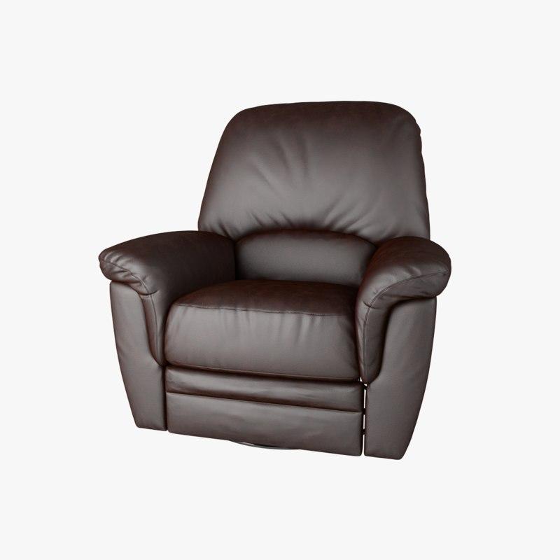 obj armchair recliner