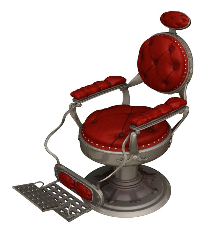 Barber chair png - Lightwave Barber Chair