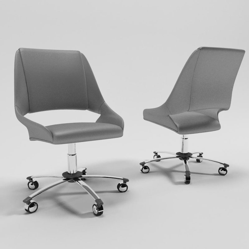cris lisa chair 3d model