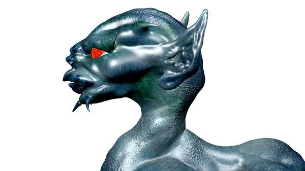 dragon dog 3d model